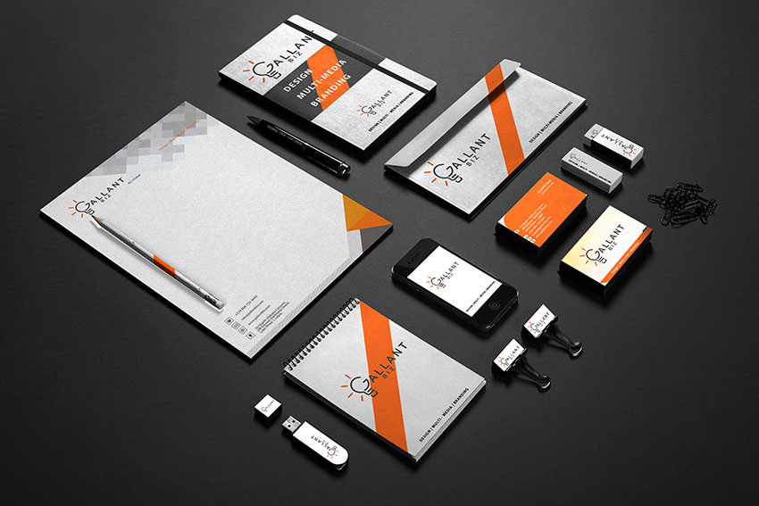 Office Stationery Branding